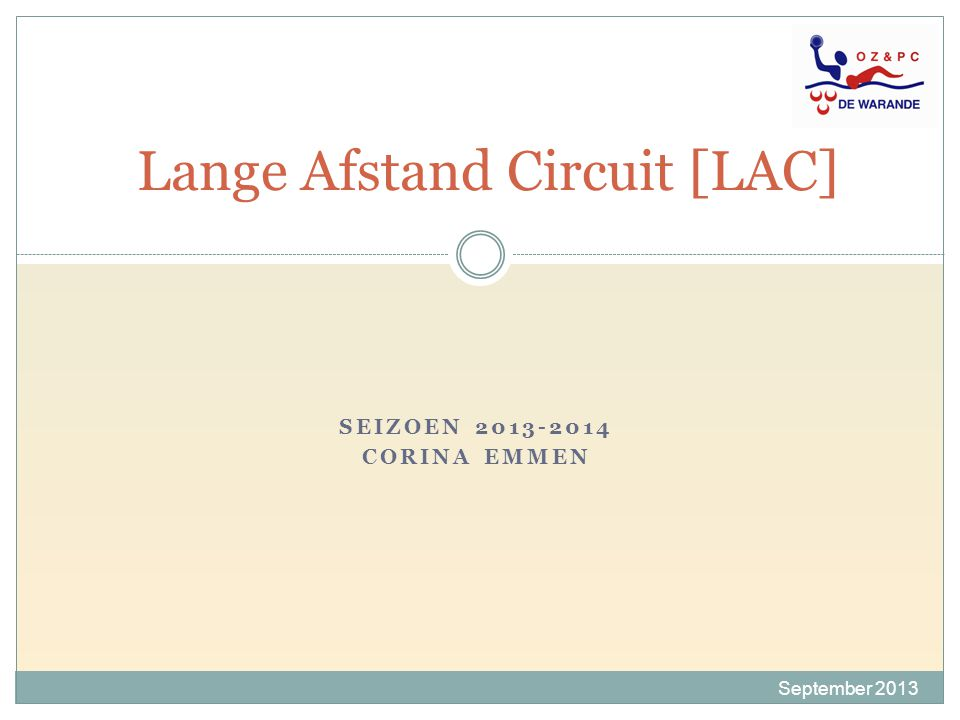 Lange Afstand Circuit [LAC]